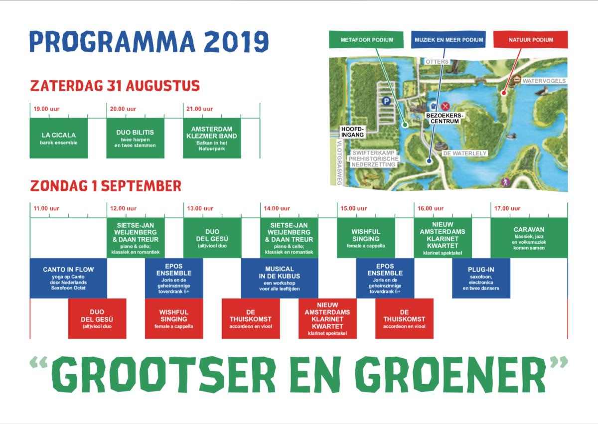 Uitgast Programma 2019